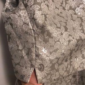 MaxMara Dresses - Weekend max mara metallic overlay dress sz 10
